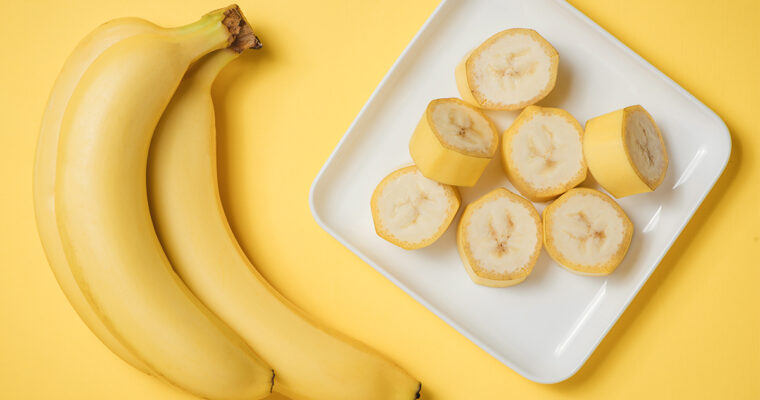 Bananele, cele mai recomandate fructe în curele de slăbire
