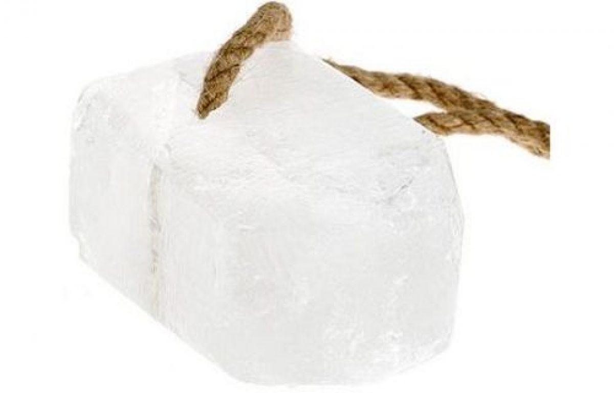 Deodorante bio cu piatra de alaun – elimină mirosurile neplăcute