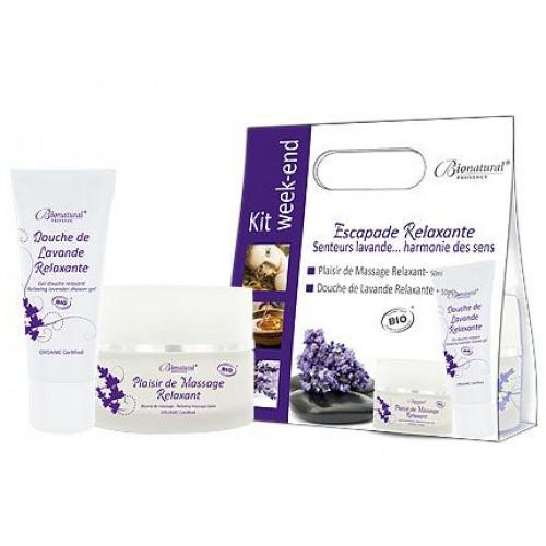 Set cadou cosmetice bio - Escapade Relaxante