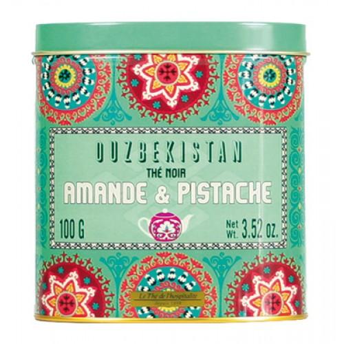 Ceai negru cu migdale si fistic Uzbekistan