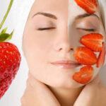 Delicioasele căpșuni perfecte ca masca de fata