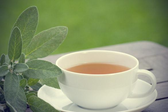 Ceai de salvie, un remediu pentru transpiratie excesiva