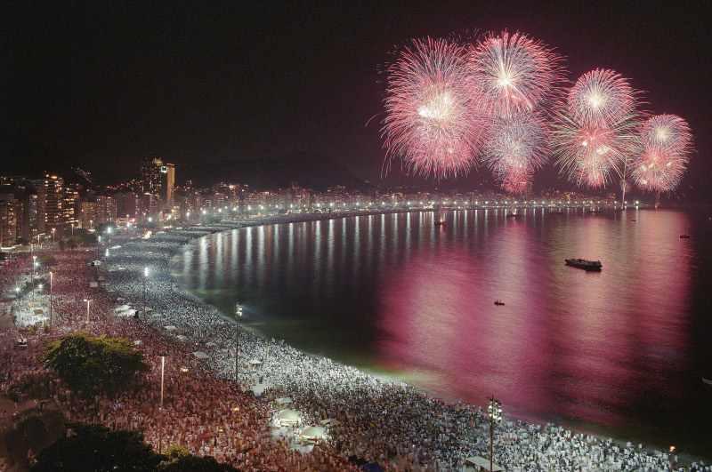 Revelion la Rio de Janeiro