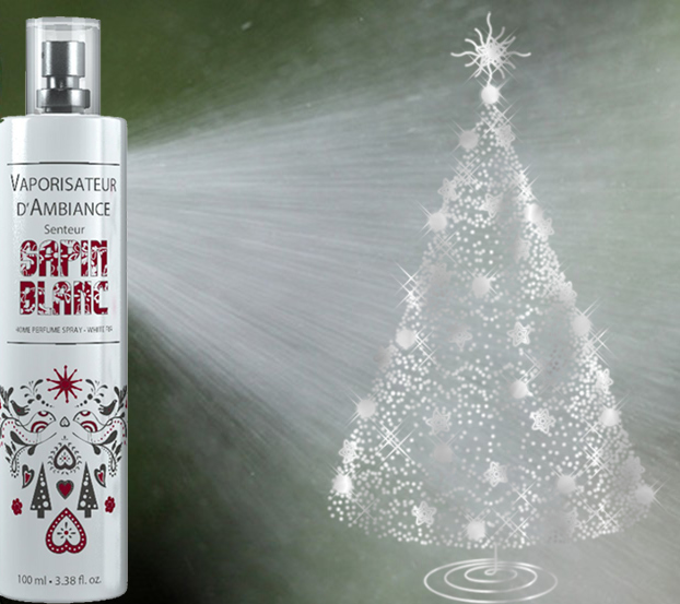 Parfum camera spray - Brad alb